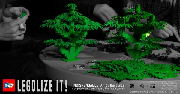 LEGOlize medical marijuana