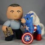 Jack Kirby & Cap America