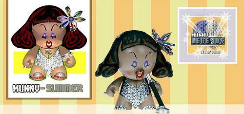Donna Summer custom Munny by Stor Dubiné