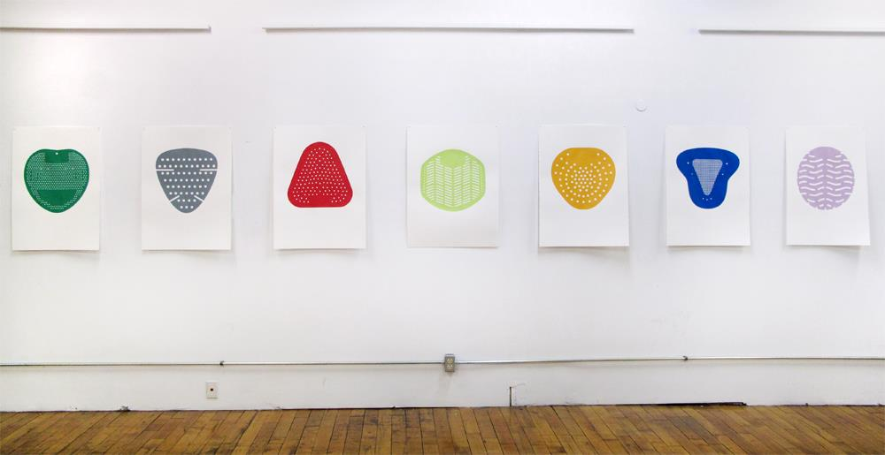 Tom Howe's Urinal Screenprints