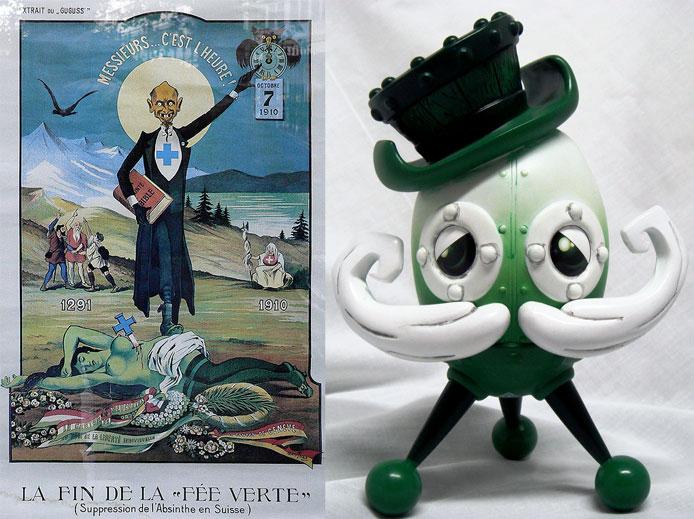 Doktor A's Chester Runcorn: Absinthe Edition