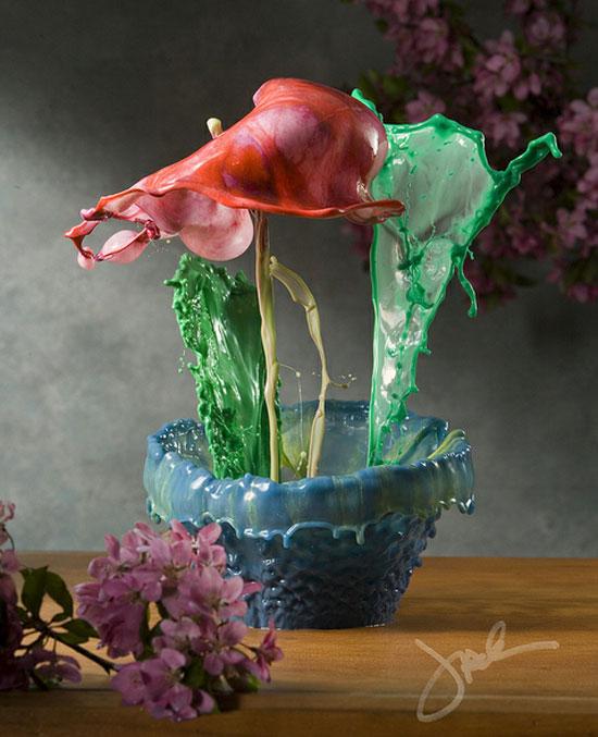 Fluid Florals by Jack Long