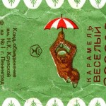 Russian candy wrappers