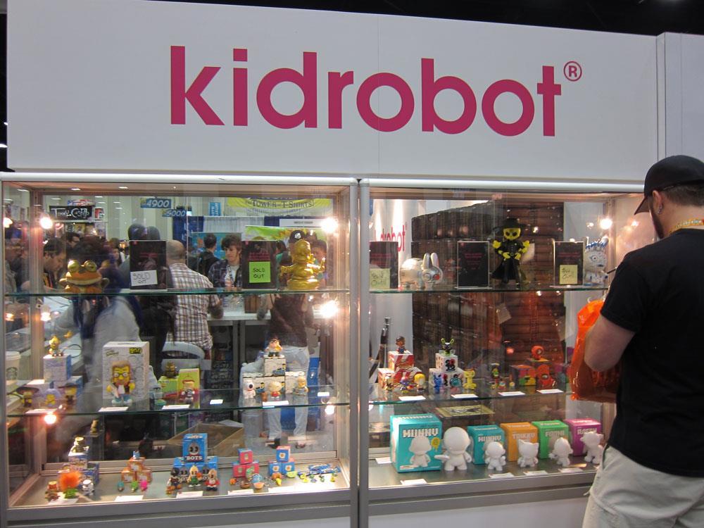 Kidrobot Comic-Con 2012