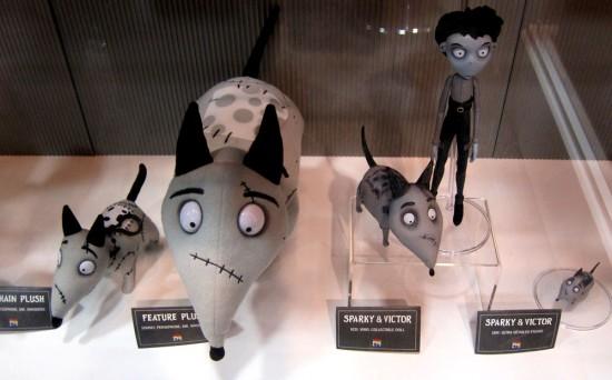 Tim Burton's Frankenweenie: sets, props and merch