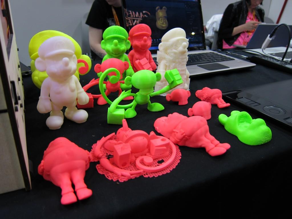 Makerbot at Comic-Con 2012
