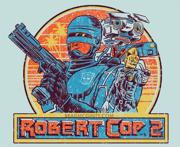 Robert Cop by Brad McGinty