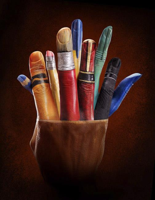 Pencil Pot by Ray Massey