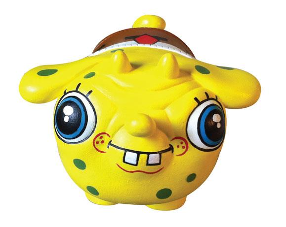 Spongebob Squarepants Puck by Okedoki