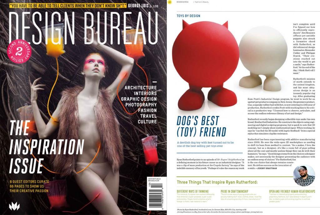 Design Bureau Magazine: Toys by Design: Brutherford Industries