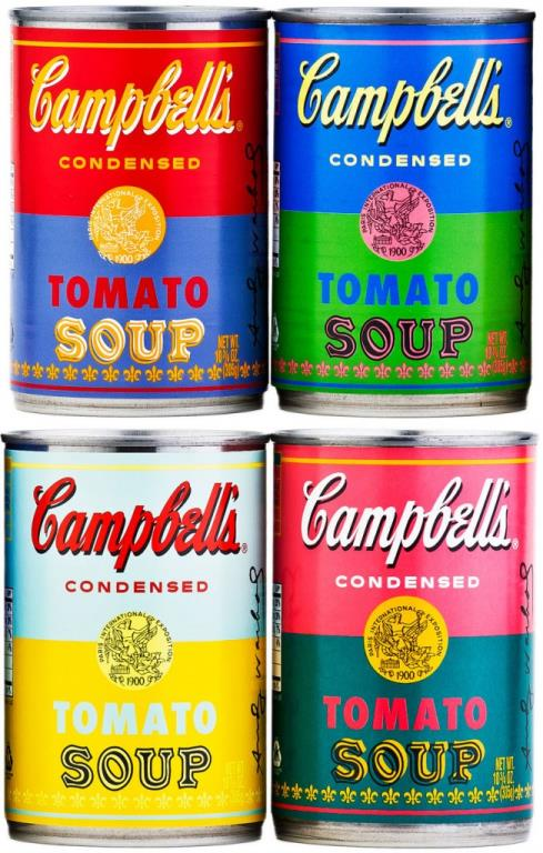Andy Warhol Campbell's Soup Cans 2012