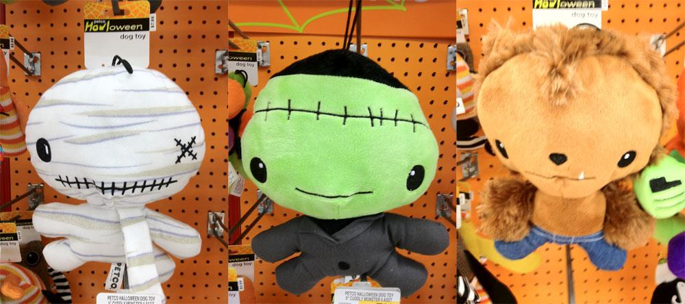 Cuddly Rigor Mortis Howloween Plushes for PetCo