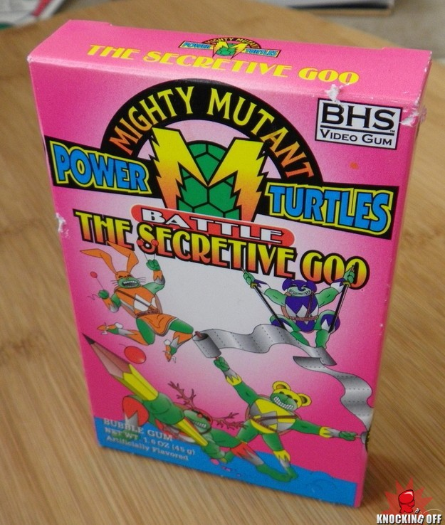 Mighty Mutant Power Turtles