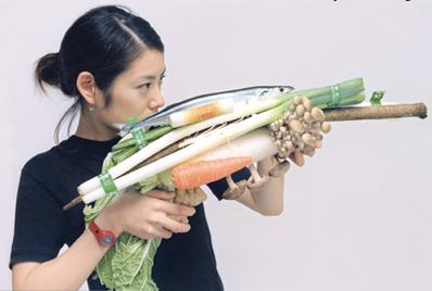 Saury Fish Ball Hot Pot Weapon (Tokyo, 2001) © Tsuyoshi Ozawa