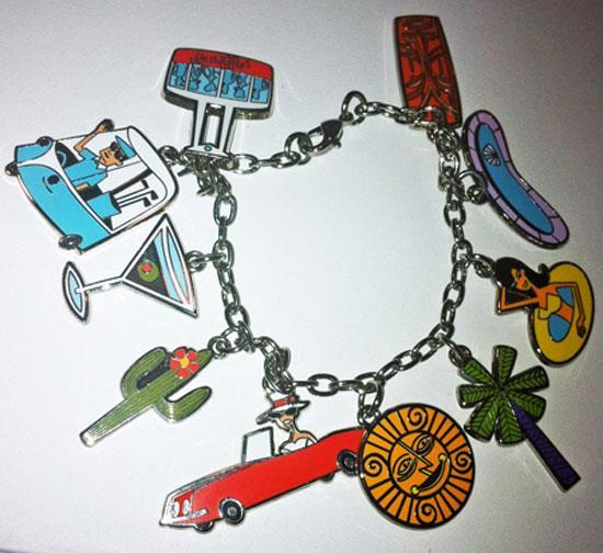 Palm Springs Charm Bracelet by Shag the artist