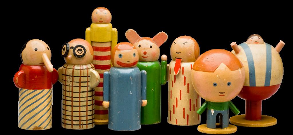 Personifications of Childhood Misdeeds by Minka Podhajska (1930)
