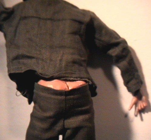 G.I. Joe showing his trademark moon