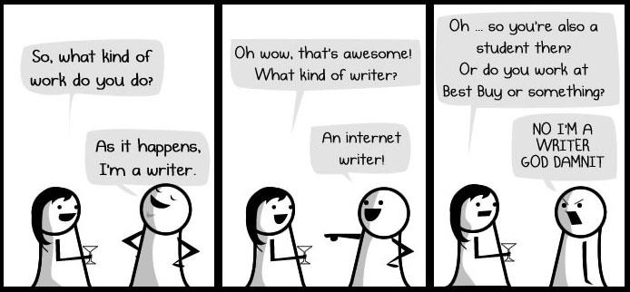 The Oatmeal on Internet Writers