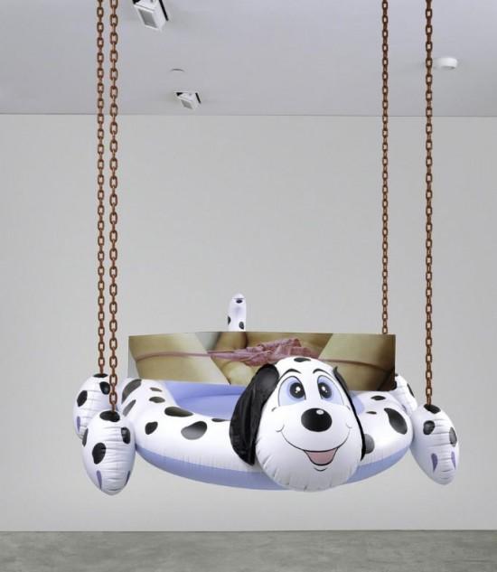 "Jeff Koons ""Dog Pool (Panties)"" (2003)"