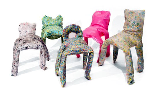 Frumpy Chairs by Jamie Wolfond