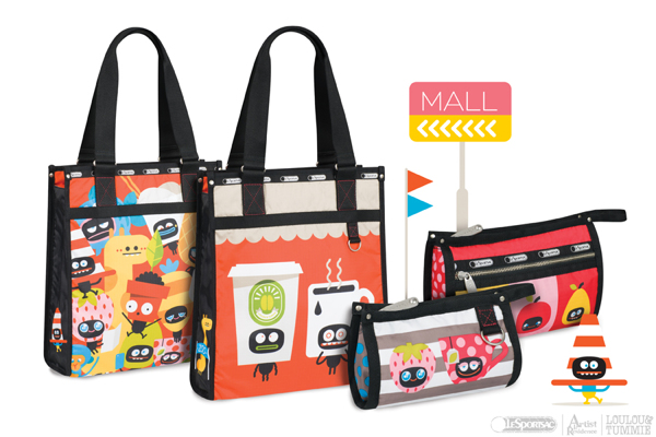 LouLou & Tummie Urban Fruits for LeSportsac