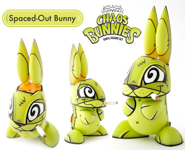 Spaced-Out Chaos Bunny by Joe Ledbetter