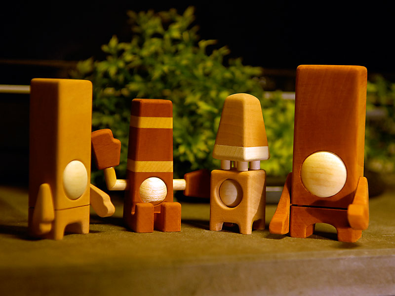 Pearblock family by Pepe HIller.