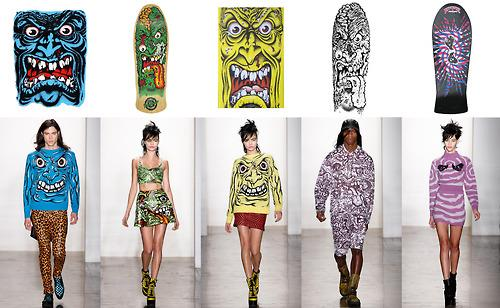 Jeremy Scott uses iconic skate graphics by Jim Phillips--without permission.