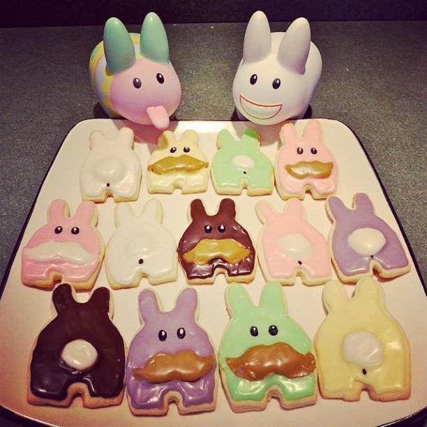DIY Labbit cookies! © @yearofthelabbit Get her recipe: http://www.yearofthelabbit.com