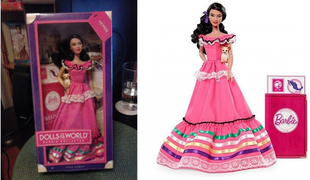 """Controversial"" Mexico Barbie"