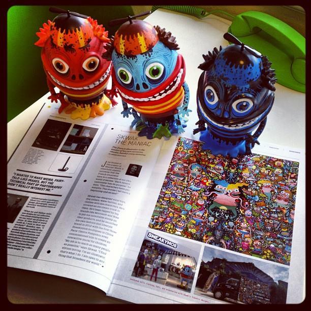 SKWAK in Design Bureau Magazine