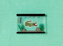 Japanese aquarium pin brooch